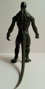 Lizard Amazing Spider-Man Action Figure Movie Back and Tail 2012 Hasbro
