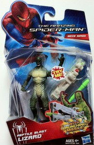 Packaged Amazing Spider-Man Lizard Reptile Blast Movie Action Figure 2012 Hasbro