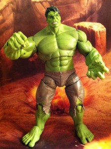 "Avengers Hulk 6"" Movie Figure Smashes Studio Series Hasbro 2012"