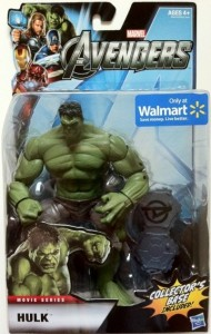 "Packaged Avengers 6"" Studio Series Hulk Action Figure Wal-Mart Exclusive Hasbro 2012"