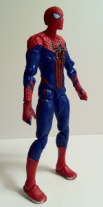 Side of Ultra Poseable Spider-Man Amazing Spider-Man Movie Action Figure Hasbro 2012