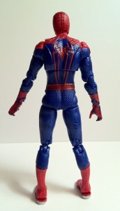 Back of Ultra Poseable Spider-Man Amazing Spider-Man Movie Action Figure Hasbro 2012