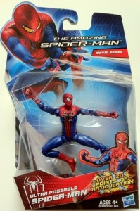 Packaged Amazing Spider-Man Movie Ultra Poseable Spider-Man Action Figure Hasbro 2012