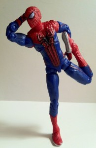 Amazing Spider-Man 4&quot; Ultra Poseable Spider-Man Figure Poses for the Camera