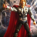 "Thor Avengers Figure 6"" Movie Studio Series 2012 Hasbro"
