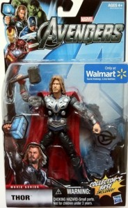 "Packaged Avengers 6"" Studio Series Thor Movie Action Figure Hasbro 2012"