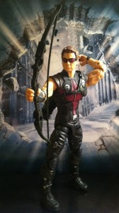 "Hawkeye Avengers Studio Series Action Figure 6"" Hasbro 2012"