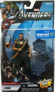 "Packaged Avengers 6"" Loki Studio Series Action Figure 2012 Hasbro"