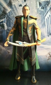 "Loki Avengers 6"" Studio Series Action Figure 2012 Hasbro"