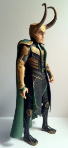 "Side of Loki Avengers 6"" Studio Series Action Figure 2012 Hasbro"