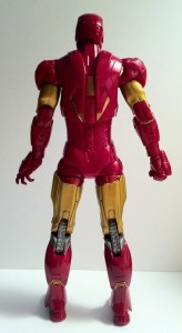 "Back of Iron Man Avengers Movie 6"" Action Figure Studio Series Hasbro 2012"