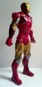 "Side of Iron Man Avengers Movie 6"" Action Figure Studio Series Hasbro 2012"