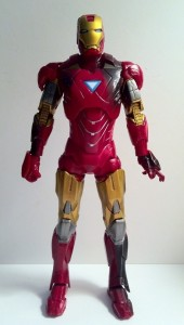 "Front of Iron Man Avengers Movie 6"" Action Figure Studio Series Hasbro 2012"