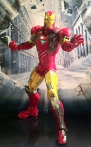 "Avengers Iron Man Movie 6"" Action Figure Studio Series Hasbro 2012"