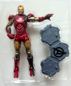 "In Bubble Avengers Iron Man Movie 6"" Action Figure Studio Series Hasbro 2012"