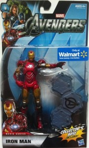 "Packaged Avengers Iron Man Movie 6"" Action Figure Studio Series Hasbro 2012"