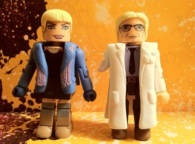 Gwen Stacy & Dr. Curt Connors Minimates Amazing Spider-Man Movie 2012