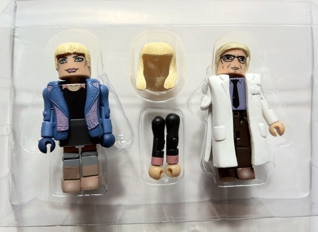 In Bubble Gwen Stacy & Dr. Curt Connors Minimates Amazing Spider-Man 2012