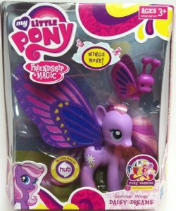 Packaged My Little Pony Glimmer Wings Daisy Dreams 2012 Hasbro