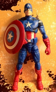 "Avengers 6"" Captain America Studio Series Movie Action Figure Hasbro 2012"