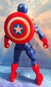 "Avengers 6"" Captain America Studio Series Figure Wearing Shield"