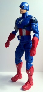"Avengers Captain America 6"" Marvel Legends Side of Action Figure Movie 2012 Hasbro"