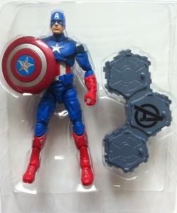 "Avengers Captain America 6"" Action Figure In Bubble"