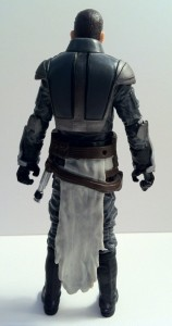Back of Vintage Collection Starkiller Action Figure VC100 Hasbro 2012