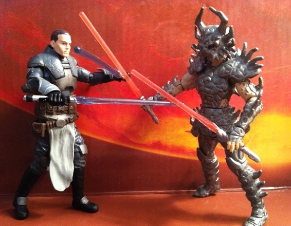 Force Unleashed II Starkiller vs. Darth Krayt Action Figures