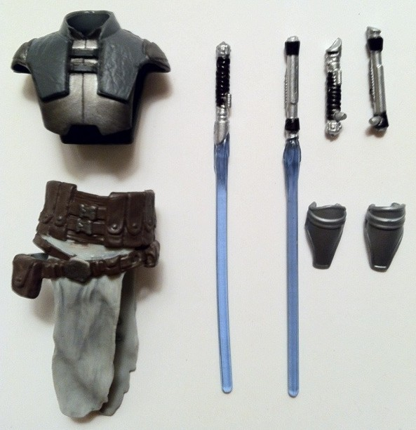 Accessories from Vintage Collection Starkiller VC100 Action Figure