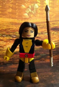 Minimates New Mutants Dani Moonstar with Valkyrie Spear