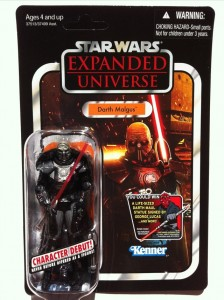 Vintage Carded Darth Malgus Action Figure VC96 Star Wars 2012