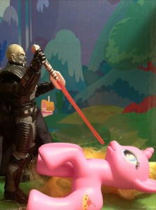 Darth Malgus Lightsaber Kills a My Little Pony 2012 VC96 Vintage Collection Star Wars
