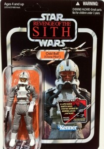 Packaged Star Wars VC97 Vintage Collection Oddball Clone Pilot Action Figure