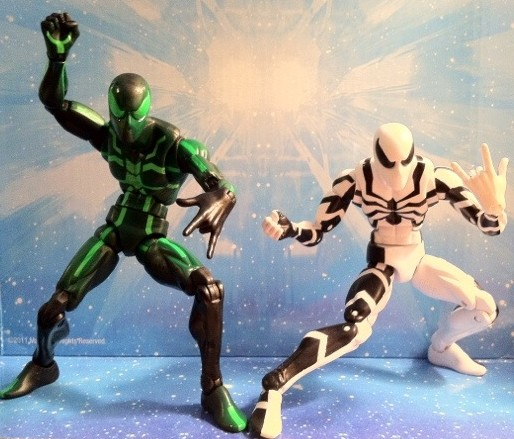 Marvel Legends Spider-Man Future Foundation and Big-Time Action Figures Series 2 2012 Hasbro