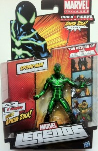 Packaged Big-Time Spider-Man Marvel Legends Action Figure Series 2 2012