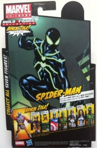Cardback Big-Time Spider-Man Marvel Legends Action Figure Series 2 2012