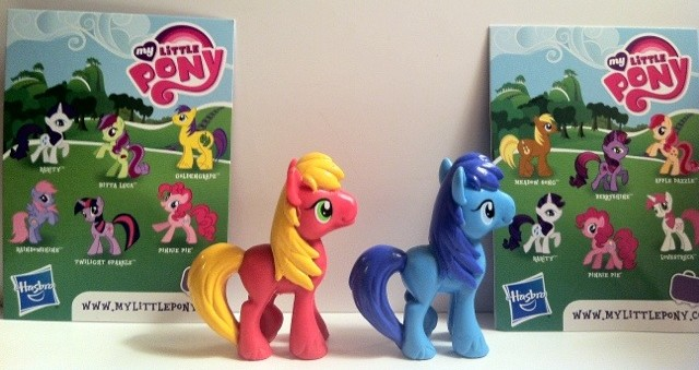 My Little Pony Big Macintosh and Noteworthy Toys Back with Cards