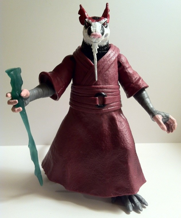 Teenage Mutant Ninja Turtles Splinter Figure Review 2012