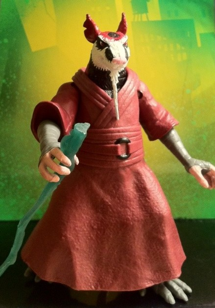 Teenage Mutant Ninja Turtles Splinter Figure Review 2012 ...