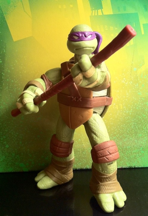 teenage mutant ninja turtles donatello figure review 2012