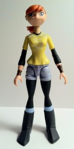 Nickelodeon Teenage Mutant Ninja Turtles April O' Neil Figure Front 2012
