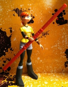 Nickelodeon Teenage Mutant Ninja Turtles April O' Neil Action Figure 2012