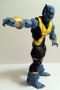 Marvel Universe Astonishing Beast Action Figure Reaching Out 2012 X-Men