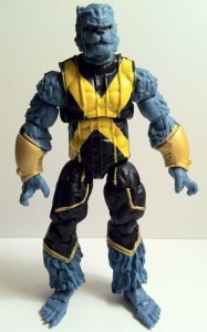 Front of Marvel Universe Beast Action Figure Hasbro 2012