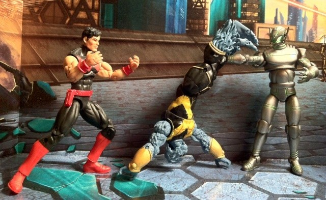 Marvel Universe Beast and Wonder Man figures VS. Ultron 2012