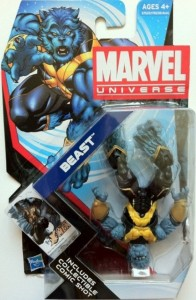 Packaged Marvel Universe Beast Figure Astonishing X-Men 2012 Hasbro