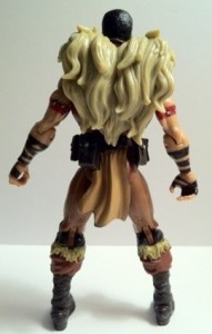 Kraven Marvel Universe Action Figure Back 2012 Hasbro Toys