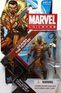 Marvel Universe Kraven the Hunter Packaged Hasbro 2012