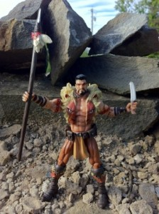 Marvel Universe Kraven the Hunter Action Figure Hasbro 2012